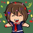 Sakura Gals School Girl