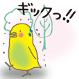 The Parakeet Animated Stickers