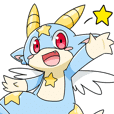 Star kids dragon Sticker!-ARON-