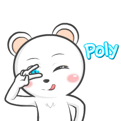 Poly ~ Animated Sticker