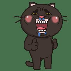 Black Luck Cat