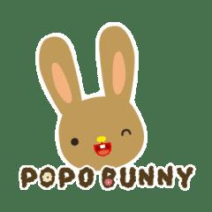 POPO BUNNY 兔兔狗狗的日常生活
