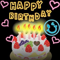 Happy Birthday&Thank you(new year)