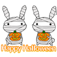 so cute rabbit usakichi.5 Halloween.ver
