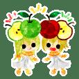 リンゴと可愛い小人たち