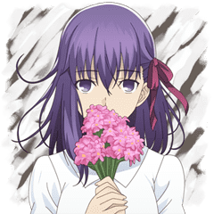 劇場版「Fate/stay night [Heaven's Feel]」 | StampDB - LINEスタンプランキング