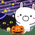 ハロウィン・うさつぐ with クロネコ