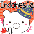 Indonesia beruang sticker kumaltupe3