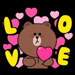 熊大&兔兔★心動愛戀