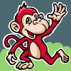 小紅猴...(猴就是猴)-01