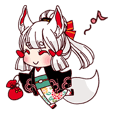 YOUKAI-Girl Sticker