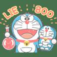 Stiker Animasi Doraemon: Sentuhan Krayon