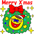 """X'mas & New Year's"" animation sticker"