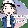 Korean Style Fashion Girl (English ver.)