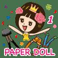 漂漂~纸娃娃 1