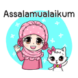 Happy Princess Hijab