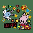 外星寶寶小飛兔波比與小馬哥泡泡搞笑登場啦