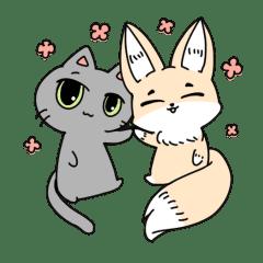 狐と愉快な仲間