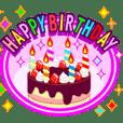 動く!誕生日と年末年始お祝いSPゴールド