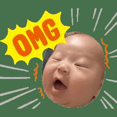 赤ちゃんスタンプ♥