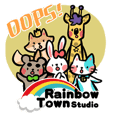 Rainbow Town! Animals Ver.