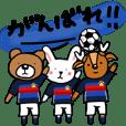 私たち、サッカー大好き!