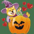 Halloween-Shiba Inu Bui Sticker(VOL.16)