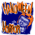 Horror Halloween!Japanese Ghost Sticker