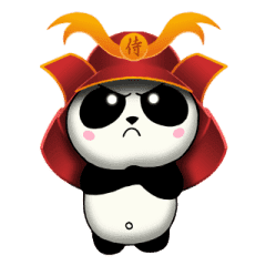 Samurai Panda Bear 2 Animasi Stiker Line Line Store