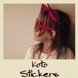 Koto English Stickers vol,1