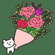 花いっぱいの中ぐま2