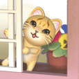 Cat in the bay window [3D Animated]