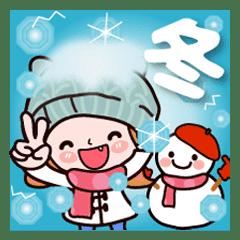 かずこちゃん❤ 冬だよ!クリスマス お正月も