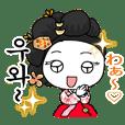 韓国時代劇~韓国衣装ハンボックで韓国語