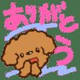 Crayon toy poodle