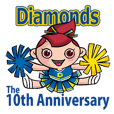 北上チアリーダーDiamonds10th anniversary
