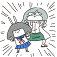 Hakase to Usachan (PhD&Bunny)