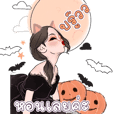 Halloween witch Bigsticker