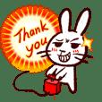 naughty rabbite 'Popo' (animation)