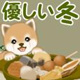 よちよち豆柴 優しい冬