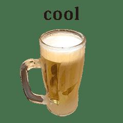 ビール 美味しい と 英語 English
