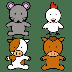 かわいい動物たちのご挨拶(敬語)第2弾
