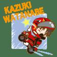 Racing Rider Kazuki Watanabe official 01