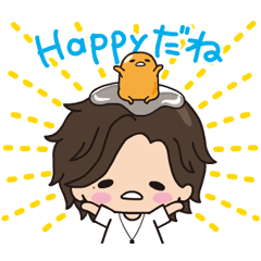 Jin × gudetama Animated Stickers