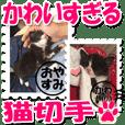 かわいすぎる子ネコシール3♯切手編