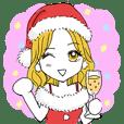A Christmas girl