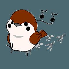 可愛麻雀小啾的日常 01