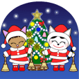 Animation happy cat's Christmas-2