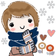 普通に大人女子 ほっこりと優しい冬(冬編)