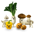 VEGETABLE DOG